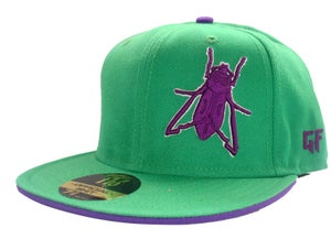 Image of GREEN/PURPLE GF FITTED {Limited Edition}