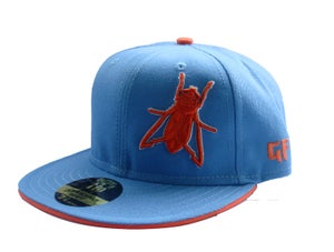 Image of SKY BLUE/ORANGE GF FITTED {Limited Edition}