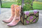 Image of Old Gringo Pink Leopardito Boots
