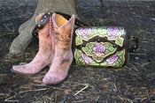 Image of The Violet Rose of Texas Purse