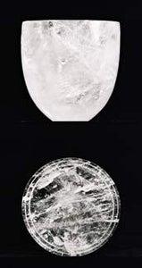 Image of Rock Crystal Lidded vessels. ( Large)