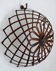 Image of Copper lattice basket