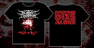 "Image of ""Everyone Dies Alone"" Album T shirt"