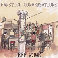 "Image of Jeff Rowe ""Barstool Conversations"" LP (EXCLUSIVE COLOR VINYL)"