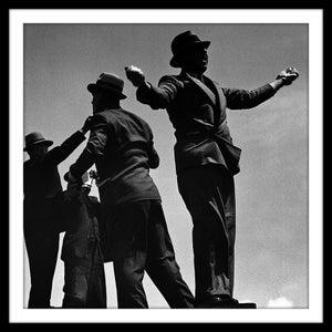Image of SP16-Tic Tac men at Ascot races, 1935
