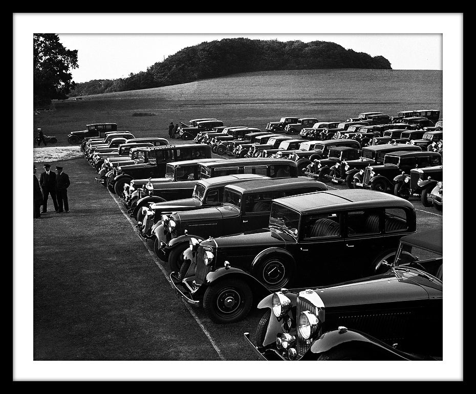 Image of SP05-Car Park at Glyndebourne, c1938