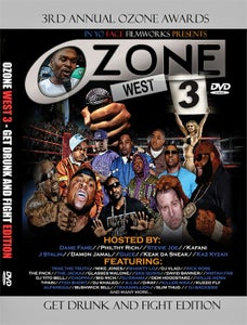Image of Ozone West 3 DVD - Get Drunk and Fight Edition