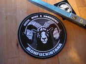 Image of Sticker: High, Wide and Handsome Ram