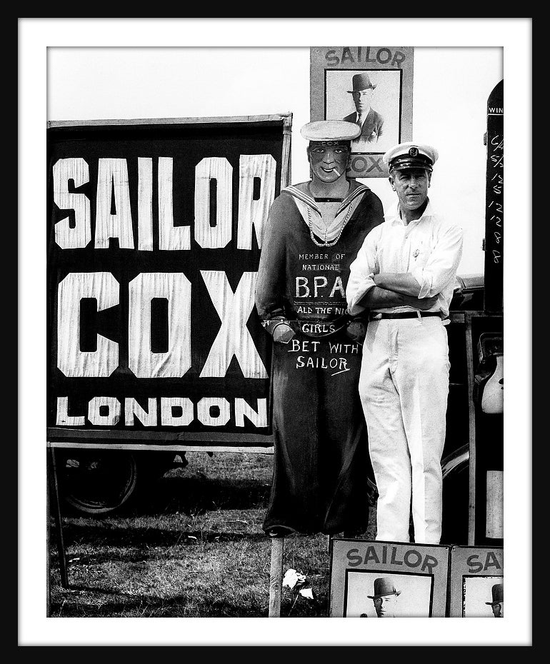Image of SP02-Sailor Cox bookmaker, Epsom 1933