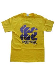 Image of tketht! Yellow logo t-shirt