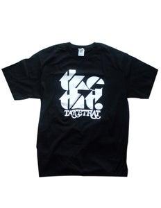 Image of tketht! Black logo t-shirt