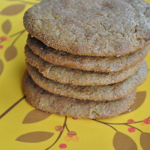 Image of gluten-free* ginger spice cookie