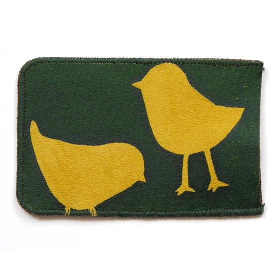 Image of Chickens Card Holder