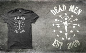 "Image of ""Dead Men"" Indiana T-Shirt"