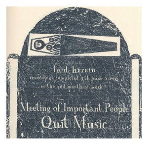 """Image of """"Quit Music"""" EP (2010)"""