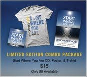 "Image of LIMITED ""START WHERE YOU ARE"" COMBO PACKAGE"