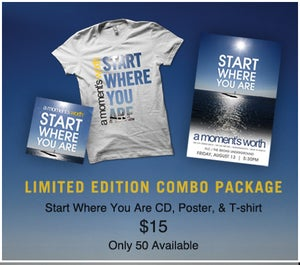 """Image of LIMITED """"START WHERE YOU ARE"""" COMBO PACKAGE"""