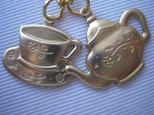 Image of Time for tea necklace