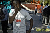 Image of Limited Edition Grey #Jerkin Cant Die Tee