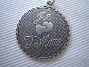 Image of Je t'aime necklace