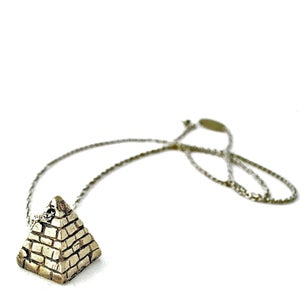 Image of Large Pyramid Necklace