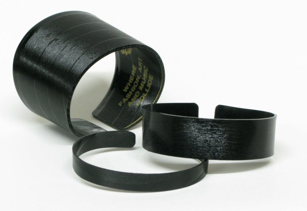 Image of Natural Record Cuff Bracelet
