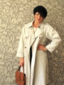 Image of Vintage Light Trench Coat UK 12-14 Eur 40-42 US 8-10