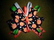 Image of Frightfully cute Jack-o-lantern Boutique Bow