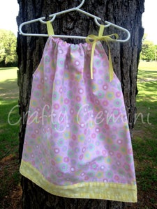 Image of Pillowcase Dress Pattern- PDF