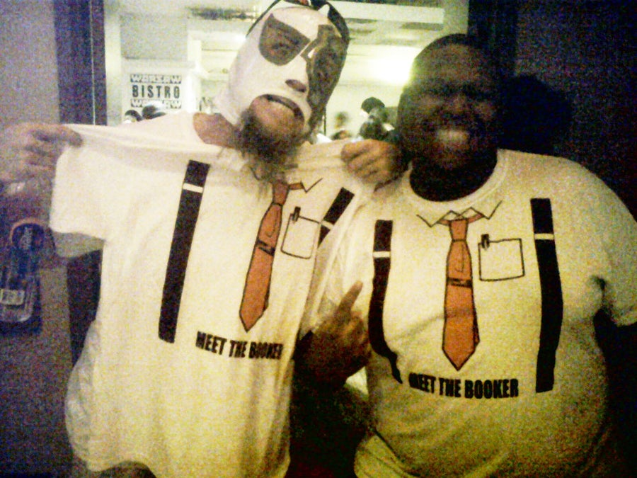 Image of MEET THE BOOKER T-SHIRT!