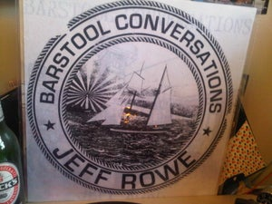 """Image of Jeff Rowe """"Barstool Conversations"""" LP (Record Release SCREEN PRINTED)"""
