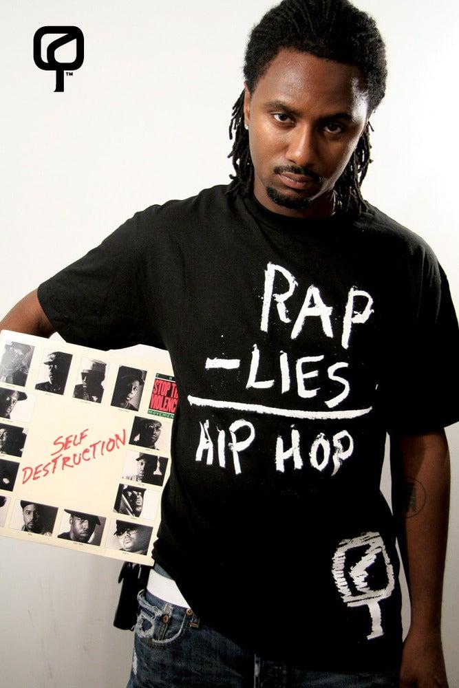 Image of RAP - LIES = HIP HOP