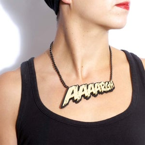 Image of AAAARGH Necklace