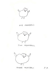 Image of Chick Likes Meatball
