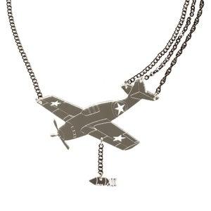 Image of Grumman Wildcat Necklace