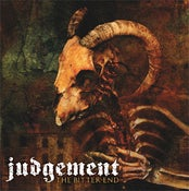 """Image of Judgement """"The Bitter End"""" CD"""