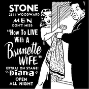Image of How To Live With A Brunette Wife [Poster]