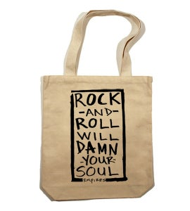 Image of Damn Your Soul Tote Bag