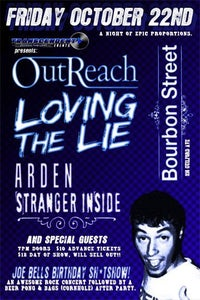 Image of Arden Live in Baltimore - October 22 @ Bourbon Street