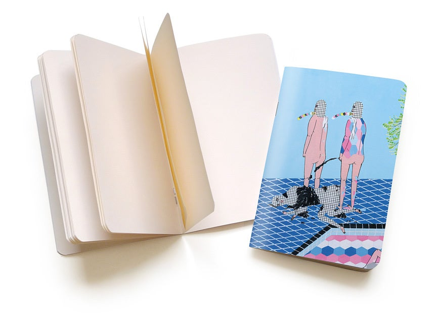 """Image of Kill Pixie """"Paralleled Opposites"""" Pocket Notebook"""