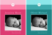 Image of SIMPLE STRIPES Baby Announcement