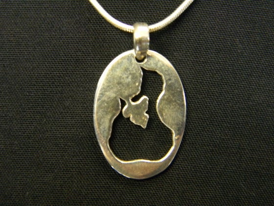 Image of Block Island Relief Necklace