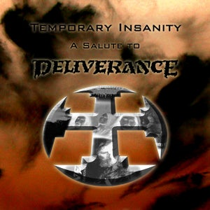"""Image of Various """"Temporary Insanity - A Salute to Deliverance"""" (Roxx Records)"""