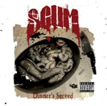 Image of DINNER'S SERVED CD (SCUM)