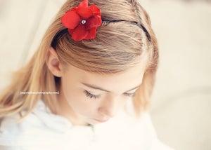 Image of Red Posey Headband