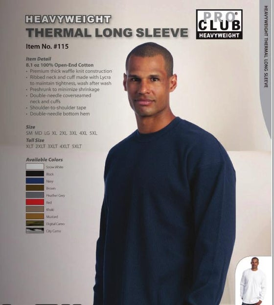 Image of Thick Heavy Weight Thermals