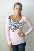 Image of The Pink Sailor Stripe Top