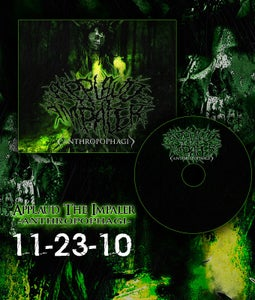 "Image of APPLAUD THE IMPALER- ""ANTHROPOPHAGI"" EP"