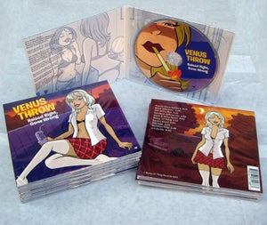 """Image of Venus Throw """"Raised Right, Gone Wrong"""" CD"""