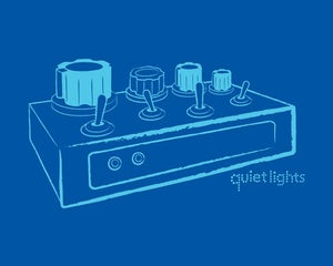 Image of 'Sleep Drone' Shirt (Blue)